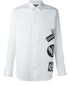 Dsquared2 | Рубашка С Принтом Логотипа