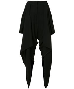 Gareth Pugh | Draped Wrap Cropped Trousers