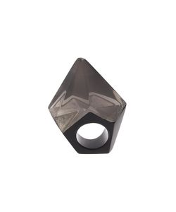 MONIES | Facet Spike Ring Medium