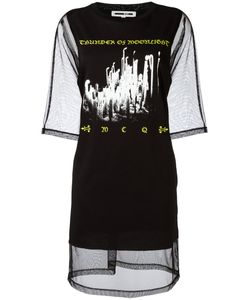 Mcq Alexander Mcqueen | Mesh T-Shirt Dress