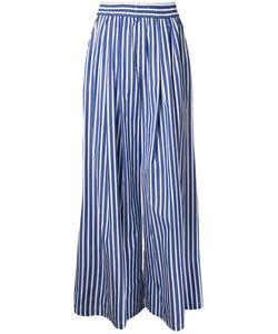 Maison Mihara Yasuhiro | Wide-Legged Striped Trousers 38 Cotton