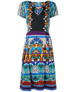Alberta Ferretti | Printed Flared Dress