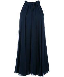 Lanvin | Pleated Laye Dress 38 Silk/Polyester