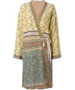 Etro | Пальто-Кимоно С Цветочным Принтом