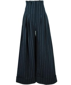 JACQUEMUS | Striped Pants 34 Linen/Flax