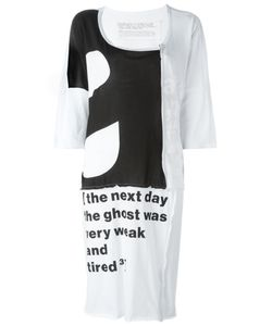 Rundholz Black Label | Quote Print Midi Dress