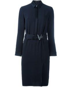 Versace   Платье-Рубашка С Поясом