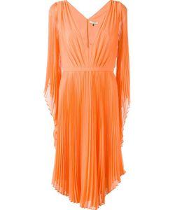 Halston Heritage | Плиссированное Платье С V-Образным Вырезом