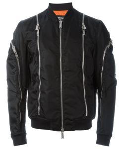 Dsquared2 | Куртка-Бомбер С Декоративными Молниями