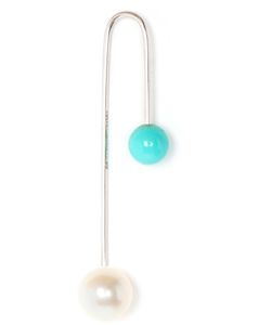 ASHERALI KNOPFER | Interchangeable Pearl And Turquoise Earring