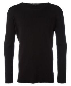 Ann Demeulemeester | Grise Crew Neck Sweatshirt Medium Cotton/Rayon