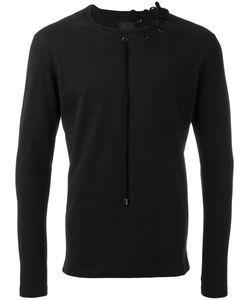 CRAIG GREEN | Laced Detail Sweatshirt Medium Cotton