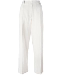 Forte Forte | High Waisted Trousers 0 Cotton/Linen/Flax