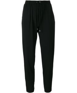Plein Sud | Drop Crotch Cropped Trousers 40 Elastodiene/Polyester/Viscose