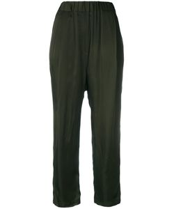 Damir Doma | Stretch Waist Cropped Trousers Size Small
