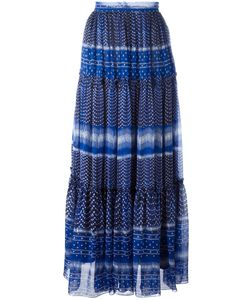 Plein Sud Jeanius | Pattern Pleated Skirt 44