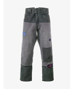 Neighborhood | Patchwork Jeans Small Cotton