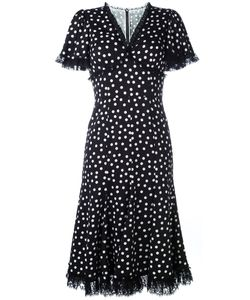Dolce & Gabbana | Polka Dot Lace Trim Dress 42
