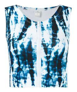 BLUE MAN   Print Crop Top