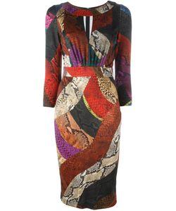 Just Cavalli | Платье Со Змеиным Принтом