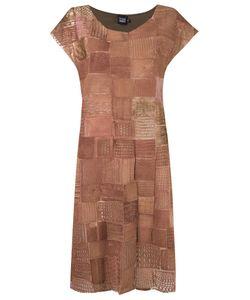 FERNANDA YAMAMOTO | Embroidered Round Neck Dress