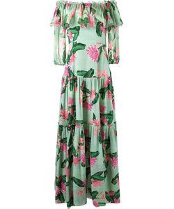 Isolda | Длинное Платье С Открытыми Плечами