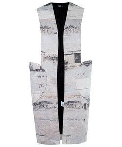 FERNANDA YAMAMOTO | Abstract Print Vest