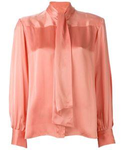 Celine Vintage | Рубашка С Бантом