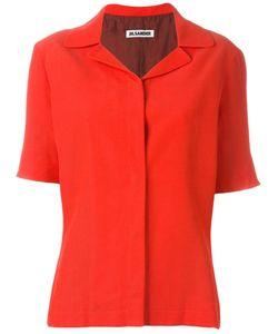 JIL SANDER VINTAGE | Рубашка С Короткими Рукавами