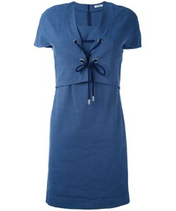Cacharel | Платье С Короткими Рукавами И Шнуровкой