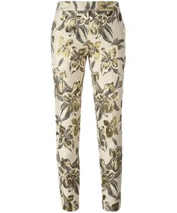 Christian Pellizzari | Print Cropped Trousers 42 Acrylic/Polyester/Cotton/Viscose