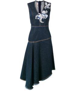 Antonio Marras | Джинсовое Платье С Цветочными Заплатками