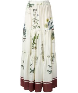 Erika Cavallini | Printed Long Skirt Size