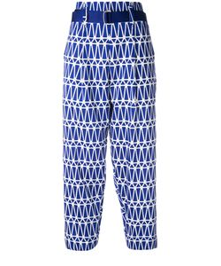 Issey Miyake | Printed Cropped Trousers Size 3