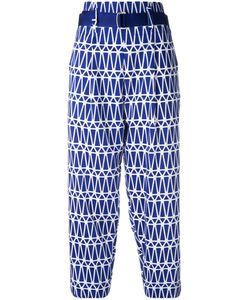 Issey Miyake | Printed Cropped Trousers