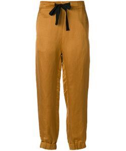 Ann Demeulemeester | Cuffed Ribbon Trousers