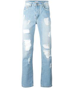 ICEBERG | Distressed Straight Leg Jeans