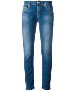 7 for all mankind | Light-Wash Slim-Fit Jeans 32