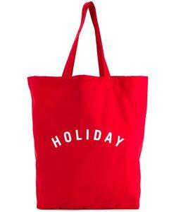 Holiday | Сумка-Тоут С Принтом-Логотипом