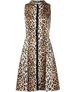 Carolina Herrera | Расклешенное Платье С Леопардовым Принтом