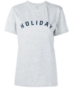 Holiday | Футболка С Принтом-Логотипом