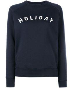 Holiday | Толстовка С Принтом-Логотипом