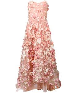 Marchesa Notte | Gathered Petal Gown