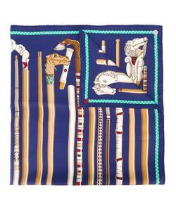Hermès Vintage   Платок С Принтом В Виде Трости