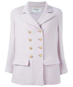 Chanel Vintage | Укороченное Пальто На Пуговицах