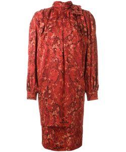 NINA RICCI VINTAGE | Платье С Высокой Горловиной