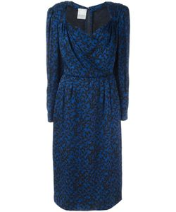 NINA RICCI VINTAGE | Платье С Леопардовым Принтом