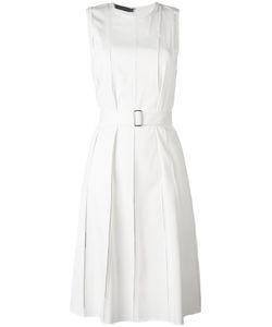 Calvin Klein Collection | Плиссированное Платье С Поясом