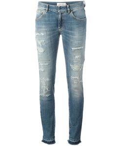 Faith Connexion | Distressed Skinny Jeans 30 Cotton/Spandex/Elastane
