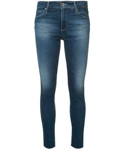 AG JEANS | Farrah Skinny Cropped Jeans 28 Cotton/Polyester/Polyurethane